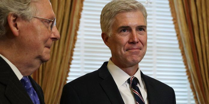 Mitch McConnell once said that he didn't care who the Republican candidate was in 2016 just as long as he could get his guy Neil Gorsuch a Supreme Court seat. In the end, he accomplished his goal but got more than he bargained for in the form of Donald Trump.