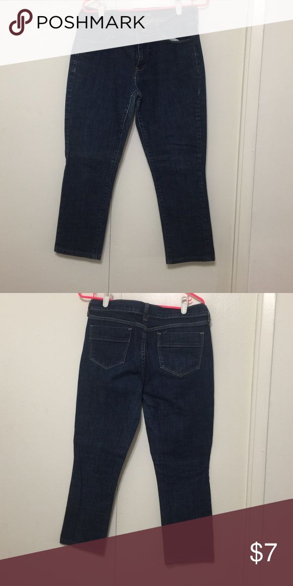 Old Nacy Capri Jeans Great fit Old Navy Jeans Ankle & Cropped