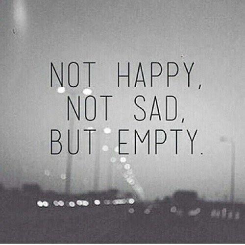 actually am sad