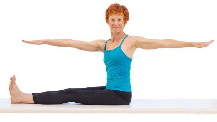 veja como fazer torção de coluna com exercícios de pilates