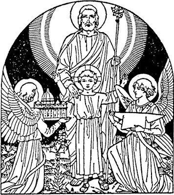 patron saint coloring pages - photo#29