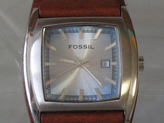 Watch  FOSSIL  Ladies Brown Leather Cuff  by LIGONaccessories