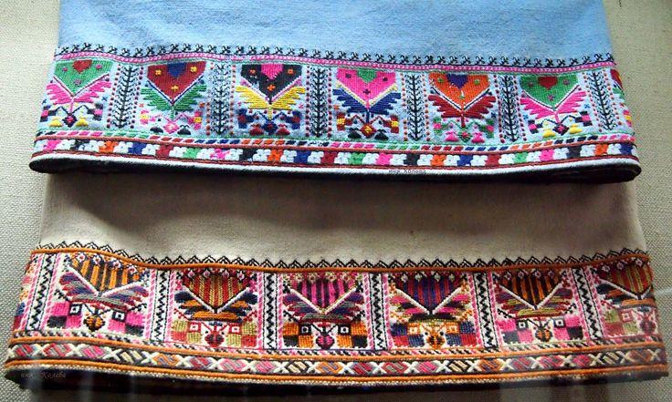 Поли за сукмани (XIX век) - Регионален исторически музей - Ямбол / Skirts for sukmans (XIX century) - Regional Meseum of History - Yambol