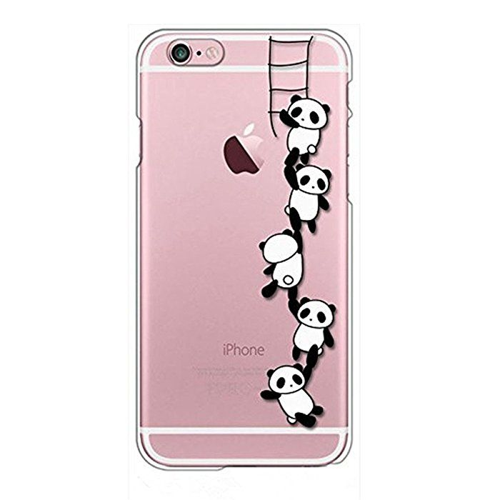 new product cc9c5 6ba7a Amazon.com: Qissy iPhone 6s Plus Case, iPhone 6 Plus Case Panda ...