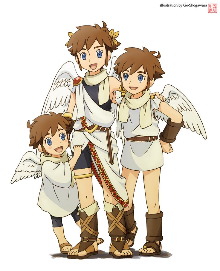 Pit-kun trilogy by Go-Shogawara.deviantart.com on @deviantART  sc 1 st  Pinterest & Över 1 000 bilder om Kid Icarus på Pinterest