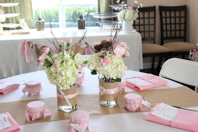 Love this Pink Owl Baby Shower