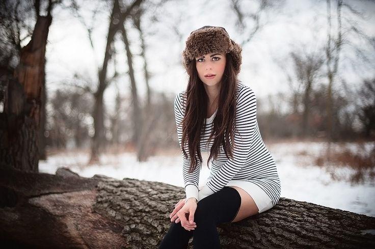 Зимние фотосессии в лесу