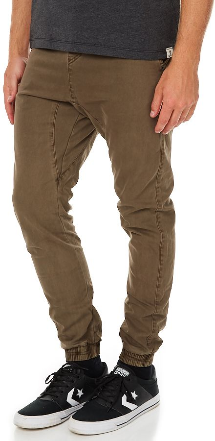 Billabong New Order Mens Jogger Pant Brown