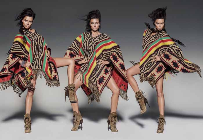 Adriana Lima Channels Indian Spirits, Lensed By Russell James For Vogue Mexico August2015 - 3 Sensual Fashion Editorials | Art Exhibits - Women's Fashion & Lifestyle News From Anne of Carversville