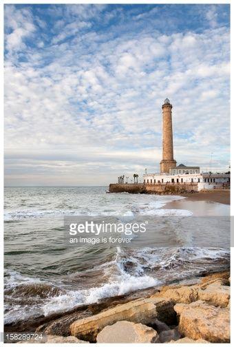 Stock-Foto : Lighthouse of Chipiona