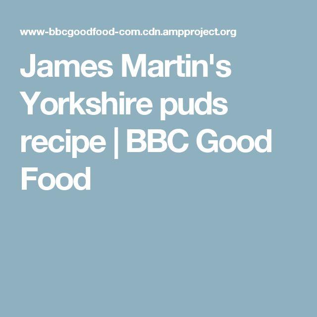 James Martin's Yorkshire puds recipe | BBC Good Food