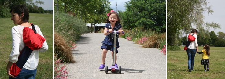 The convenience of your child's 3 wheeled scooter - without the hassles!  Perfect for the Mini Micro and Maxi Micro scooters