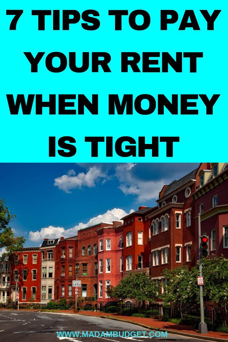 7 Ways To Pay Your Rent When You Don't Have The Money