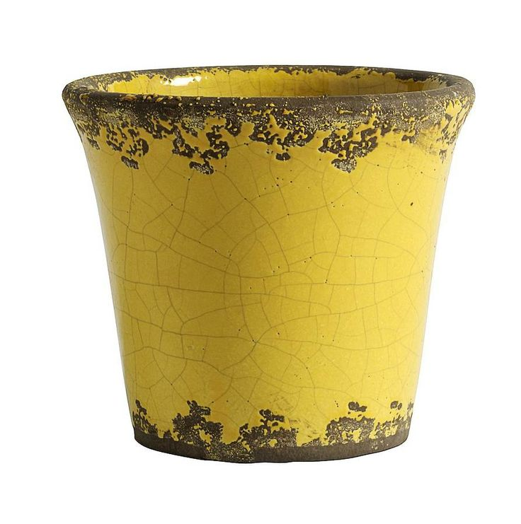 156 best ideas for the house images on pinterest ottomans great distressed yellow plant pot mightylinksfo
