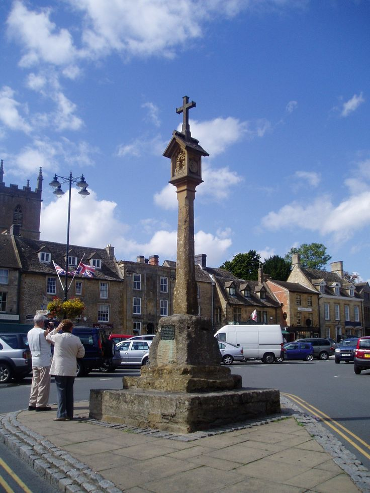 Stow on the Wold town square