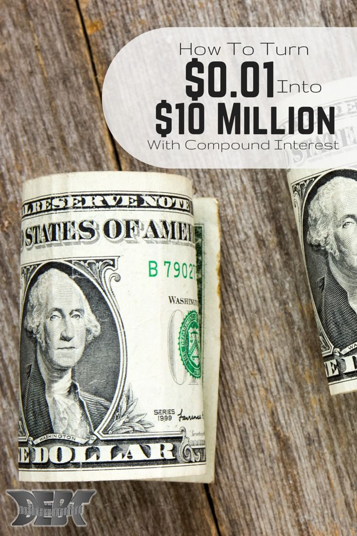 Have you ever wondered how you can become a millionaire? Well here is the method that turns $0.01 into $10 million and it's what you can use to build your wealth. Check it out. It's easier than you think (compound interest)!