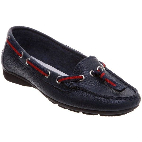 Episode Gloucester e nautical ribbon moccasins (2.215 RUB) ❤ liked on Polyvore featuring shoes, loafers, women, mocasin shoes, episode shoes, nautical shoes, moccasin flats and ribbon flats
