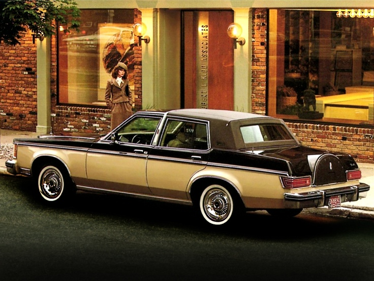 Lincoln Versailles. Basically, this was an upscale Granada, but quite a bit more expensive.