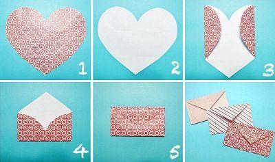 les 25 meilleures id es de la cat gorie comment faire une enveloppe sur pinterest comment. Black Bedroom Furniture Sets. Home Design Ideas