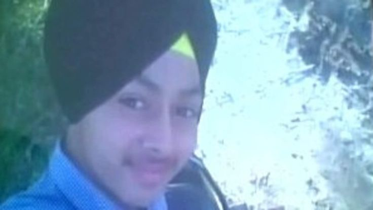 Police said 15-year-old Ramandeep Singh was taken to hospital at Pathankot in Punjab state following the incident.  Deputy police superintendentManoj Kumar said it happened when the schoolboy was playing at home with the licensed revolver, which is normally kept in a wardrobe.