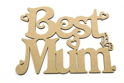 Best Mum plaque http://www.lornajayne.co.uk/
