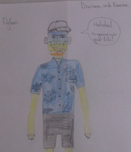 Dylan by Dimitra and Danae