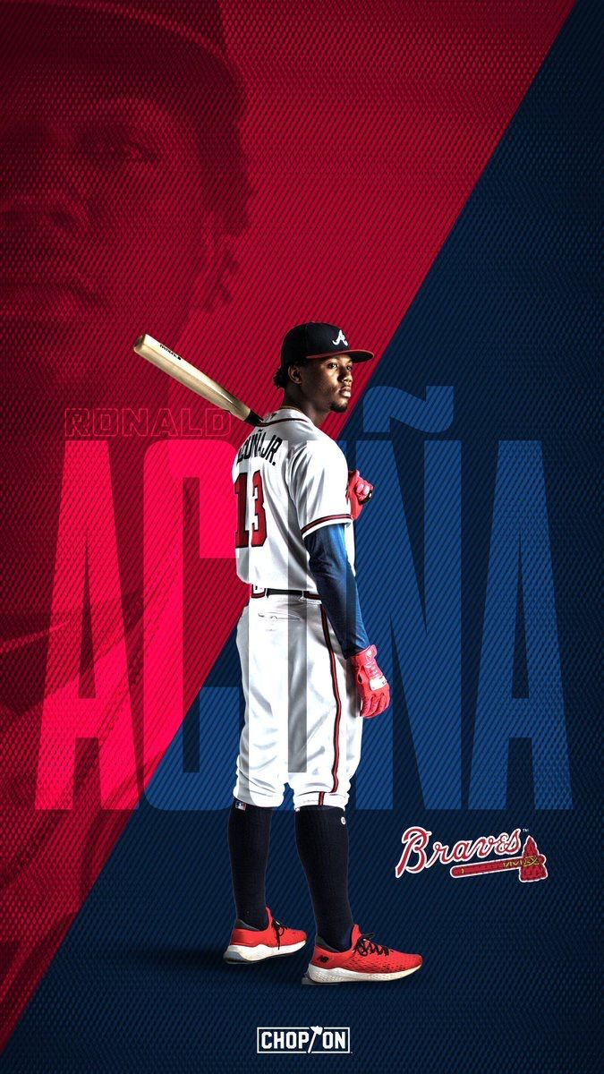 Pin By Ty Watson On Atlanta Braves Sports Design Inspiration Sports Graphic Design Sport Poster Design