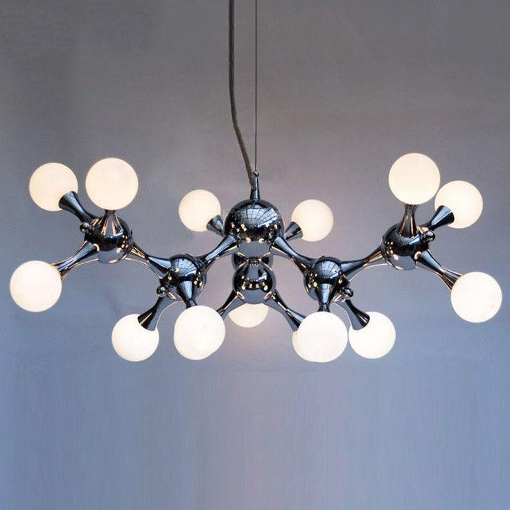 New Chrome Chandelier Modern Ceiling Pendant Light Fixture Kitchen Porch  Silver Design Inspirations