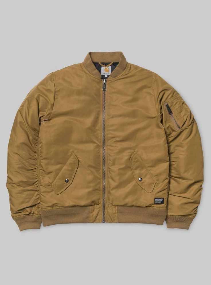 Shop the Carhartt WIP Ashton Bomber Jacket from the offical online store. | Largest selection | Shipping the same working day.