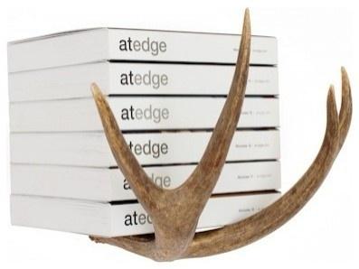 antler book case