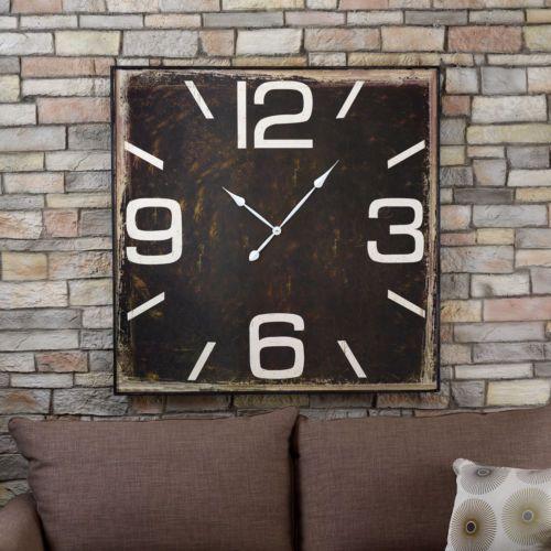 Urban Square Clock - A Big Time Look