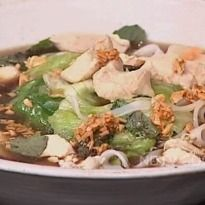Lao Chicken Noodle Soup Recipe - When it comes to noodle soups, Asia is the best.  Chef Nikhil Chibb teaches how to cook up a Lao noodle soup. Lao is the cuisine of Laos, a South-Asian country. Lao meals typically consist of a soup dish which is sipped throughout the meal.