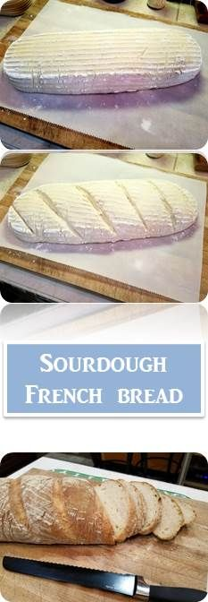 Sourdough French Bread | How to Make Sourdough Bread | The Glass Pantry