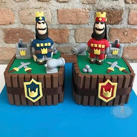 Bolo clash royale/ clash royale cake