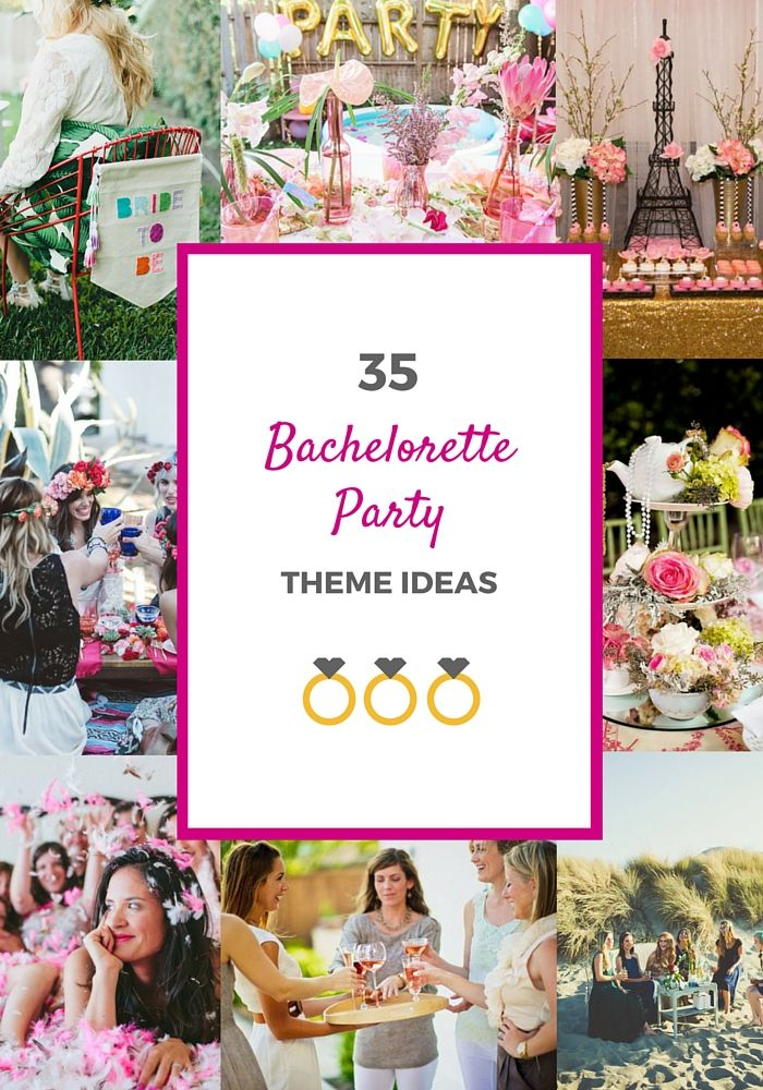 32 best dinner party images on pinterest birthdays for Good places for bachelorette parties