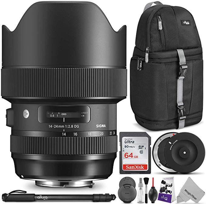 Sigma 14 24mm F 2 8 Dg Hsm Art Lens For Canon Ef W Sigma Usb Dock Art Lens Usb Dock Canon Lens