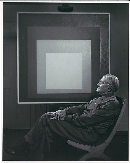 Josef Albers by Yousuf Karsh  (Canadian (born Armenia), Mardin 1908–2002 Boston, Massachusetts) 1966 Gelatin silver print  34.2 x 27.2 cm. (13 7/16 x 10 11/16 in.)