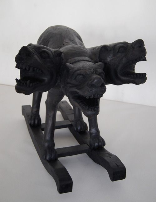 Rocking Cerberus haha.  Not gonna lie, I would have this in my place just for me!: