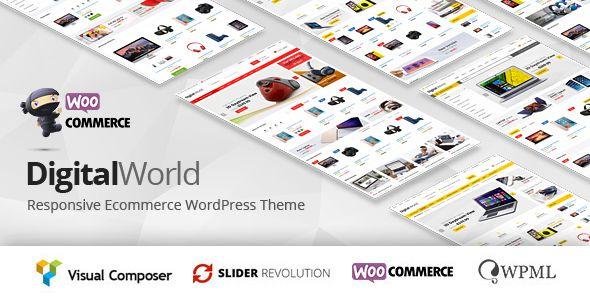 Digitalworld - Multipurpose WordPress Theme