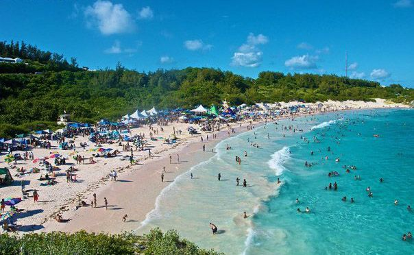 ... Bay Beach, Southampton Parish, Bermuda. SIte of Beach Fest 2012