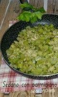 Sedano con parmigiano, ricetta, cucina preDiletta