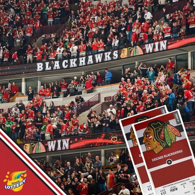 nhlblackhawksWant to win two 2015-16 #Blackhawks SEASON TICKETS? Text LOTTERY to 242957 now to enter!