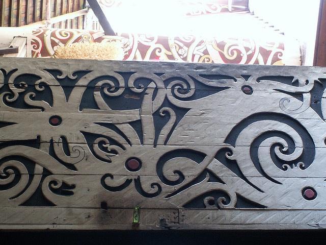 Dayak carving.