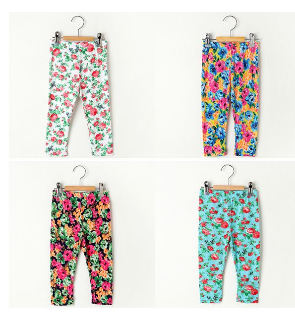 Korea children's No.1 Shopping Mall. EASY & LOVELY STYLE [COOKIE HOUSE] Flower Leggings / Size : S, M, L / Price : 3.69 USD  #leggings #kidleggings #flower #pattern #koreakids #kids #kidsfashion #cute #COOKIEHOUSE #OOTD