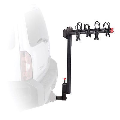 Car and Truck Racks 177849: Yakima Doubledown 4 Bike Hitch Rack Fits 1 1/4 And 2 Receivers BUY IT NOW ONLY: $209.99