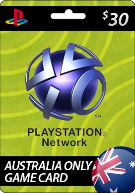 Playstation Network Card $30.00 (Australia) - A PlayStation Network Voucher Code is a special code that consumers can use to apply funds to their PlayStation Wallet without using a credit card. http://www.pcgamesupply.com/buy/Playstation-Network-3000-Card-Australia/