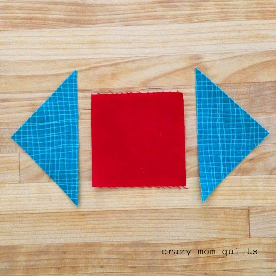 how to make a pineapple block (without paper piecing!)