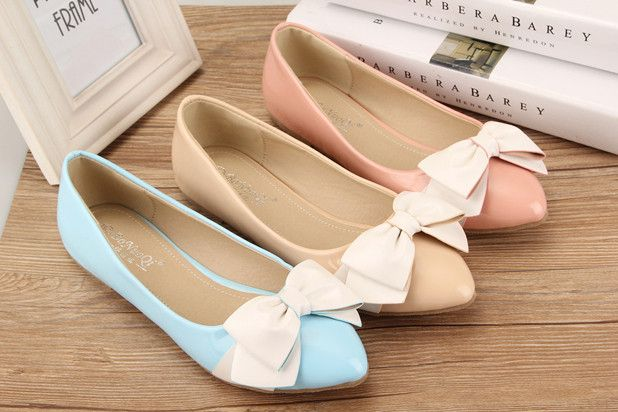 - Pretty cool ribbon flats - Ribbon gives it a touch of cuteness - Made from PU - Available in 3 colors