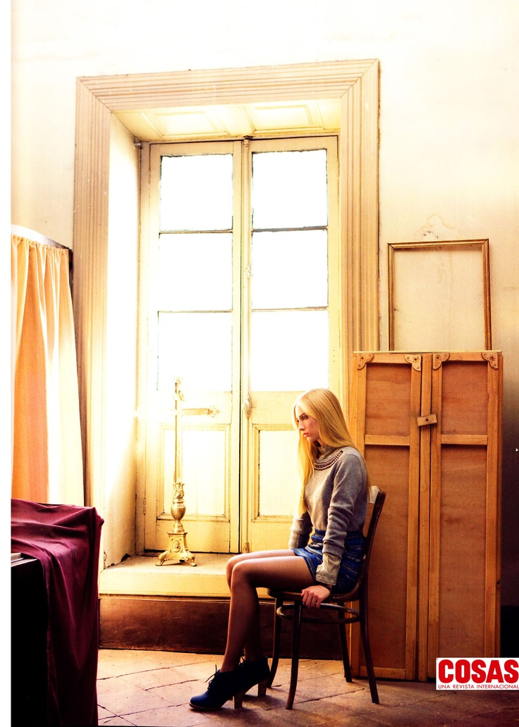 Sweater Glam #41661, Revista Cosas Especial Moda. Abril 2013