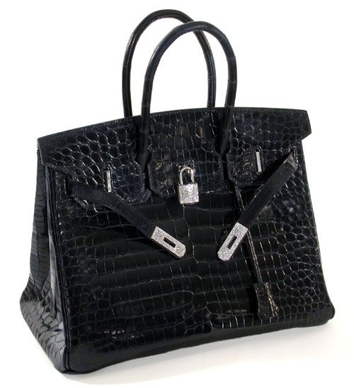 This is really the holy grail bag. Sans diamonds of course. That's a bit over the top - even for a Birkin.